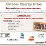 2018 Charity Month