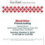 American Red Cross Blood Drive Event